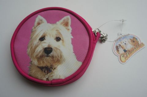 WESTIE DOG COIN PURSE IDEAL GIFT FOR WEST HIGHLAND TERRIER LOVERS